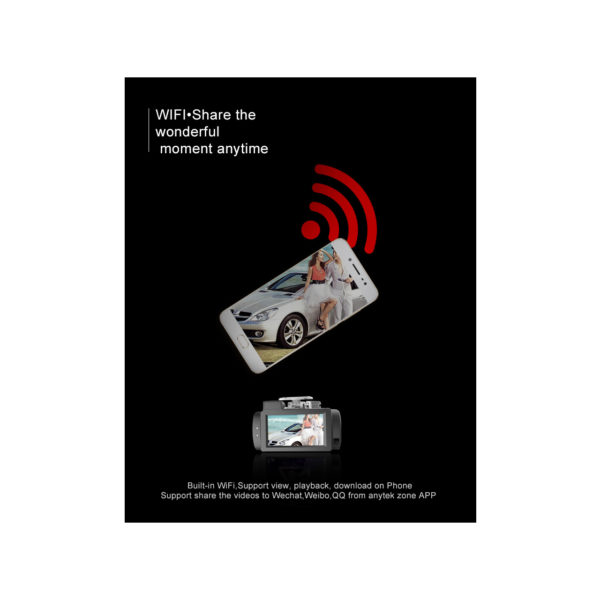 دوربین فیلم برداری خودرو AnyTek مدل G200 new