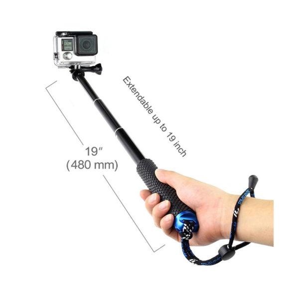 مونوپاد GoEasy مدل mini مناسب دوربین های ورزشی