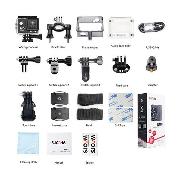 دوربین فیلم برداری ورزشی SJCAM مدل SJ4000 WiFi