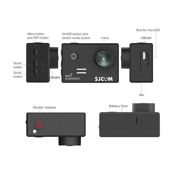 دوربین فیلم برداری ورزشی SJCAM مدل SJ5000X ELITE
