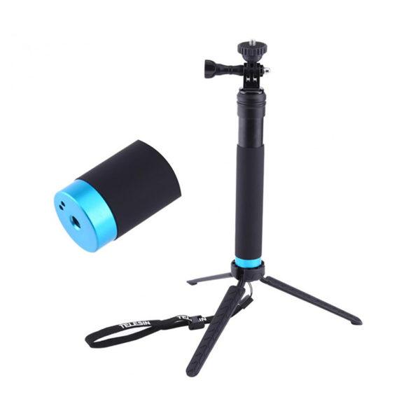مونوپاد تلسین TELESIN مدل GP مناسب دوربین های ورزشی