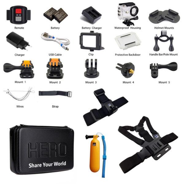 دوربین فیلم برداری ورزشی اکن مدل H9R V4